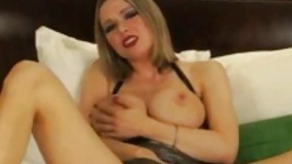Busty amateur blonde milf finger her pussy and show us her nice tits