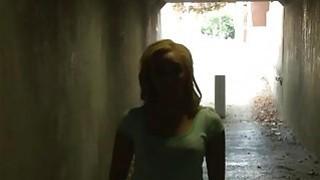 Horny blonde slut Tinslee Reagan dped by massive black cocks