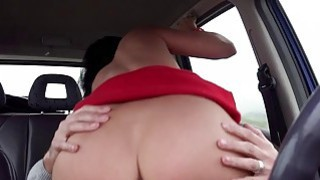 Vicky Love hitchhikes and gets pounded